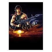 Панорамный постер Rambo